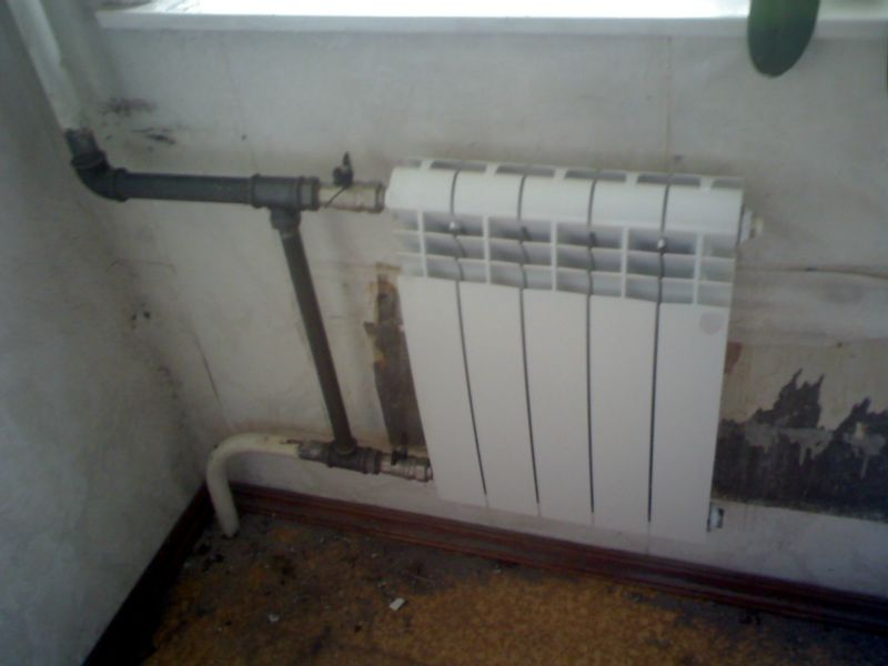 замена радиаторов