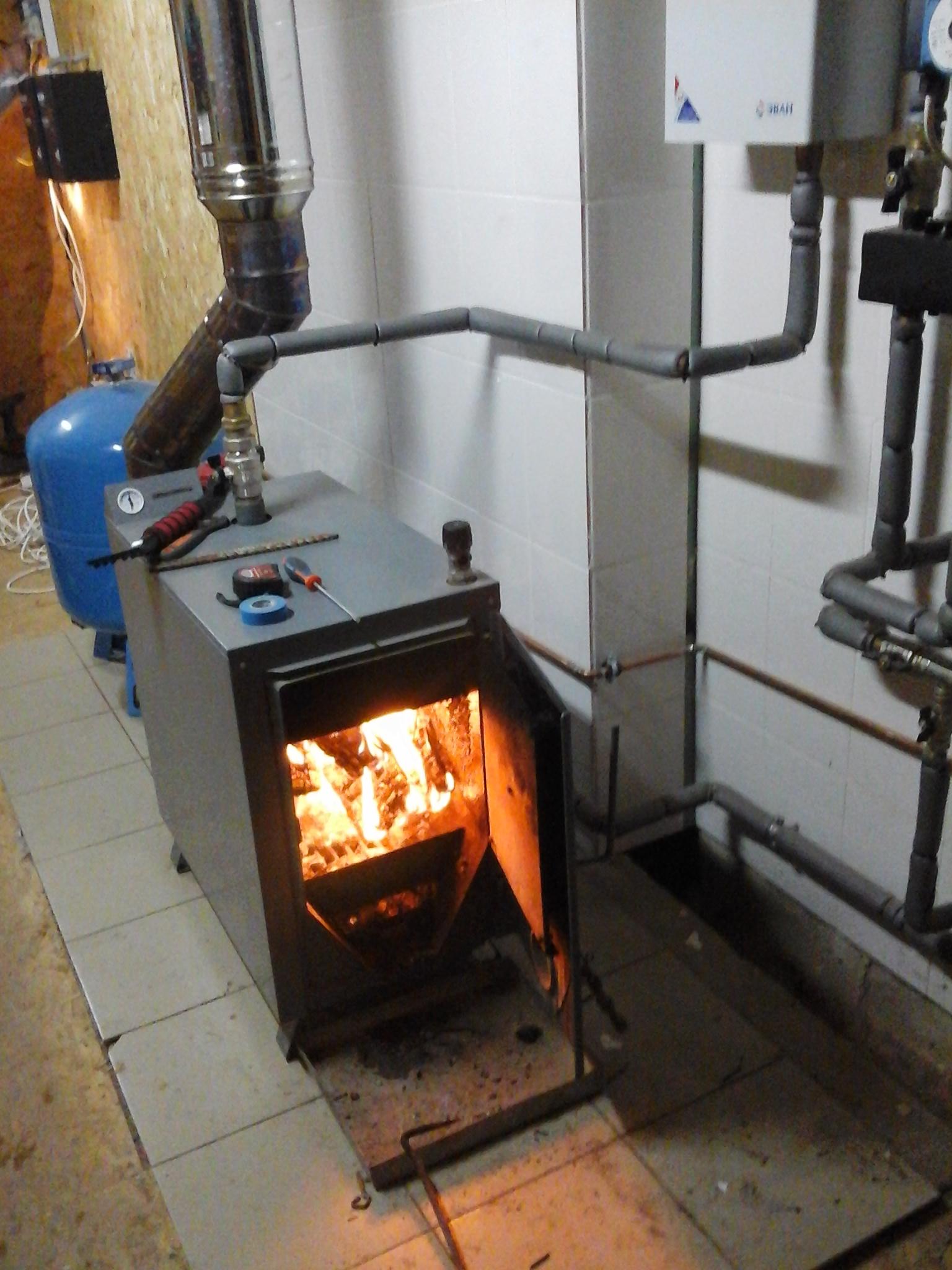 схема системы центрального отопления в панельном доме