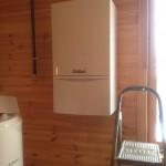 Газовое отопление деревянного дома, установка газового отопления для частного загородного дома