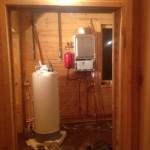 Монтаж котла и бойлера, установка газового настенного котла отопления и бойлера для горячей воды